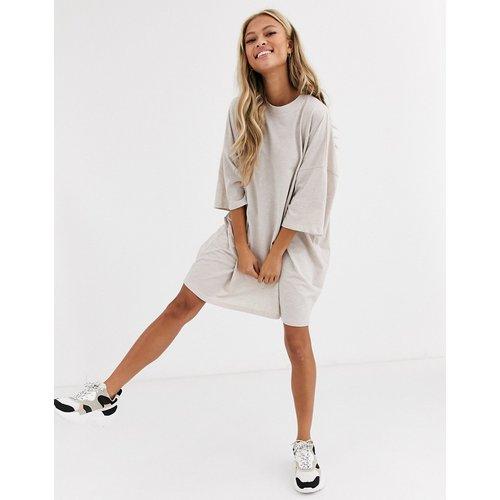 Robe t-shirt oversize - Avoine - ASOS DESIGN - Modalova