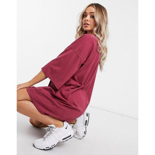Robe t-shirt oversize - foncé - ASOS DESIGN - Modalova