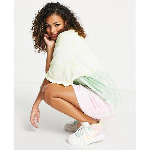 Robe t-shirt oversize - Tie-dye pastel - ASOS DESIGN - Modalova