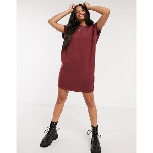 Robe t-shirt ultra douce - Bordeaux - ASOS DESIGN - Modalova