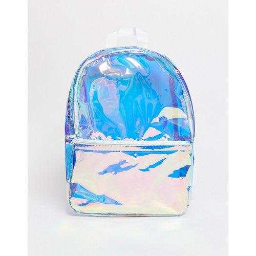 Sac à dos en plastique irisé - ASOS DESIGN - Modalova