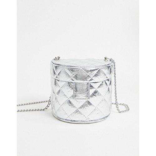 Sac bandoulière matelassé style vanity - ASOS DESIGN - Modalova