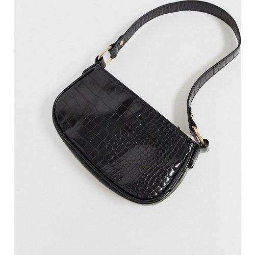 Sac porté épaule imitation croco style années 90 - ASOS DESIGN - Modalova