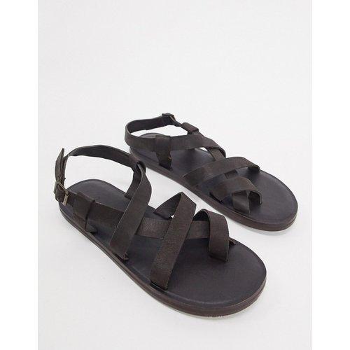 Sandales - Cuir - ASOS DESIGN - Modalova