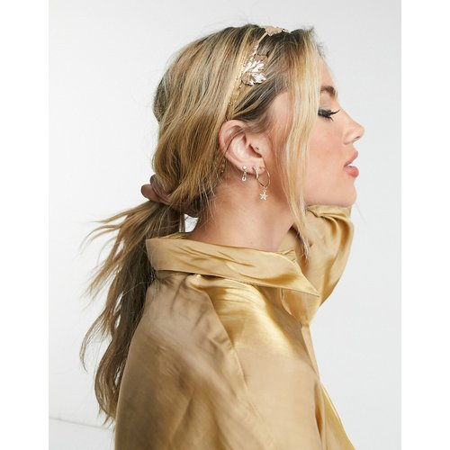 Serre-tête style couronne orné de feuilles - ASOS DESIGN - Modalova