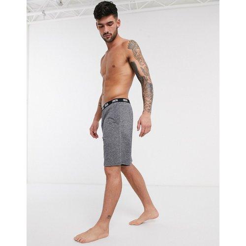 Short de pyjama confort teint par sections avec taille à logo - ASOS DESIGN - Modalova