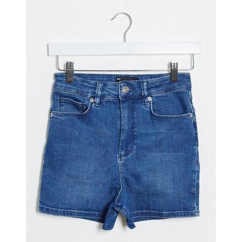 Short en jean à coutures apparentes - ASOS DESIGN - Modalova