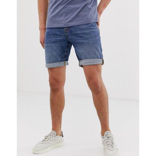 Short slim en jean délavé foncé - ASOS DESIGN - Modalova