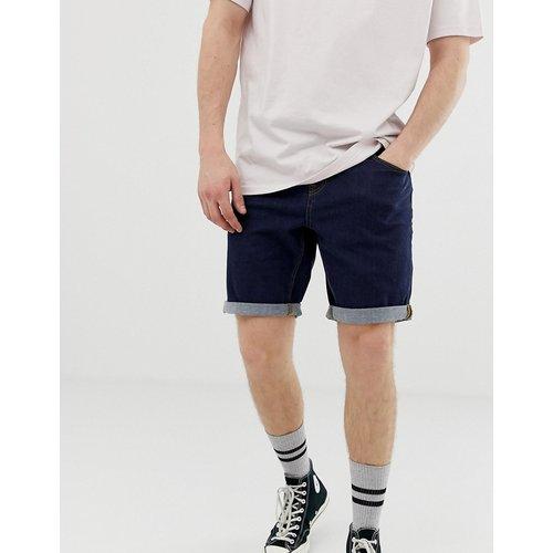 Short slim en jean - Indigo - ASOS DESIGN - Modalova