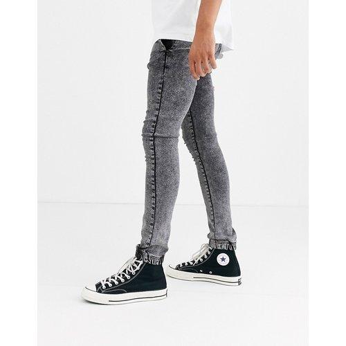 Spray on - Jean stretch power style pantalon de jogging - acide - ASOS DESIGN - Modalova