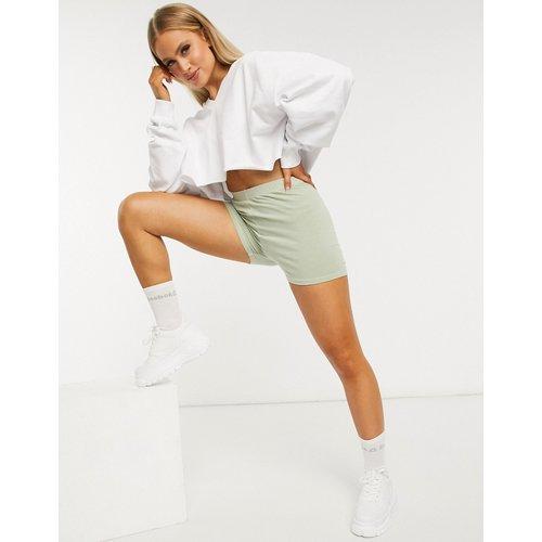 Sweat-shirt court oversize avec col en V - ASOS DESIGN - Modalova