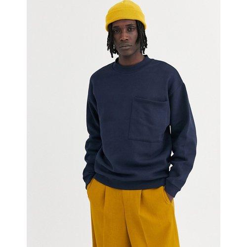 Sweat-shirt oversize avec grande poche sur la poitrine - ASOS DESIGN - Modalova