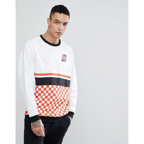 Sweat-shirt oversize avec imprimé damier - ASOS DESIGN - Modalova