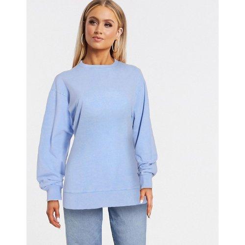 Sweat-shirt oversize délavé - barbeau - ASOS DESIGN - Modalova