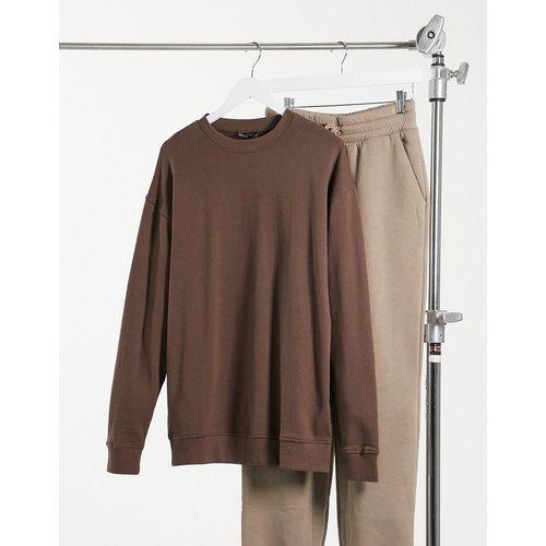 Sweat-shirt oversize en coton biologique - ASOS DESIGN - Modalova