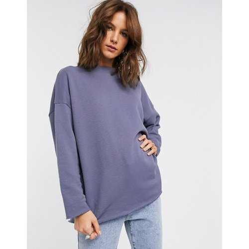 Sweat-shirt oversize texturé - ASOS DESIGN - Modalova