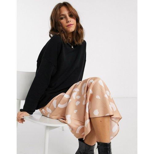 Sweat-shirt texturé oversize - ASOS DESIGN - Modalova