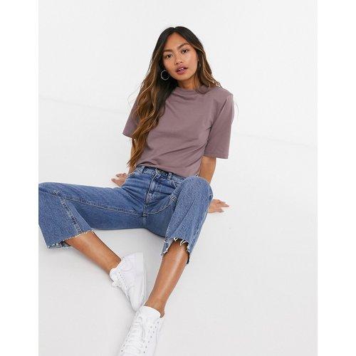 T-shirt à épaulettes - Champignons - ASOS DESIGN - Modalova