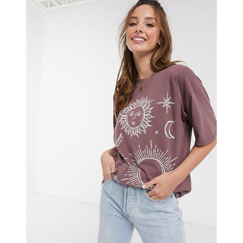 T-shirt à imprimé solstice - délavé - ASOS DESIGN - Modalova