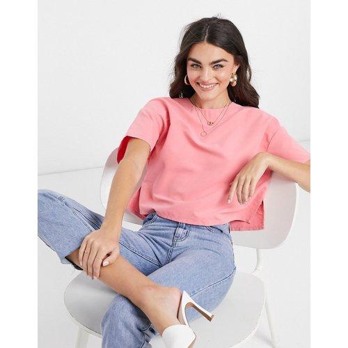 T-shirt à manches courtes en modal - Corail - ASOS DESIGN - Modalova