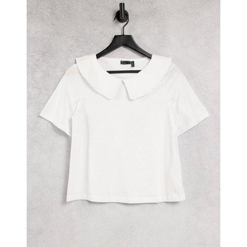 T-shirt avec col - ASOS DESIGN - Modalova