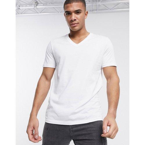 T-shirt avec col en V - ASOS DESIGN - Modalova