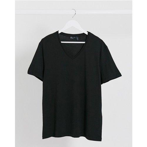 T-shirt avec col V - ASOS DESIGN - Modalova