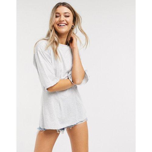 T-shirt avec corset - glacé chiné - ASOS DESIGN - Modalova