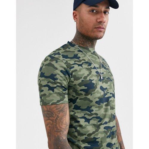 T-shirt avec imprimé camouflage - ASOS DESIGN - Modalova