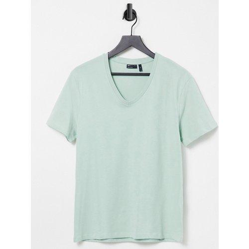 T-shirt col en V - ASOS DESIGN - Modalova