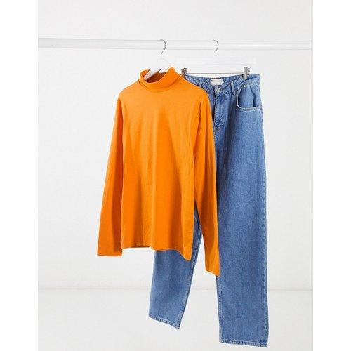 T-shirt col roulé à manches longues en jersey - ASOS DESIGN - Modalova