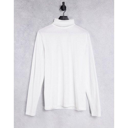 T-shirt col roulé en jersey à manches longues - ASOS DESIGN - Modalova
