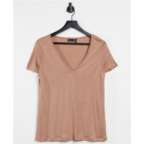 T-shirt col V décontracté - Faon - ASOS DESIGN - Modalova