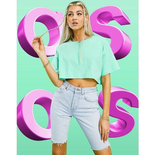 T-shirt crop top - Pomme - ASOS DESIGN - Modalova