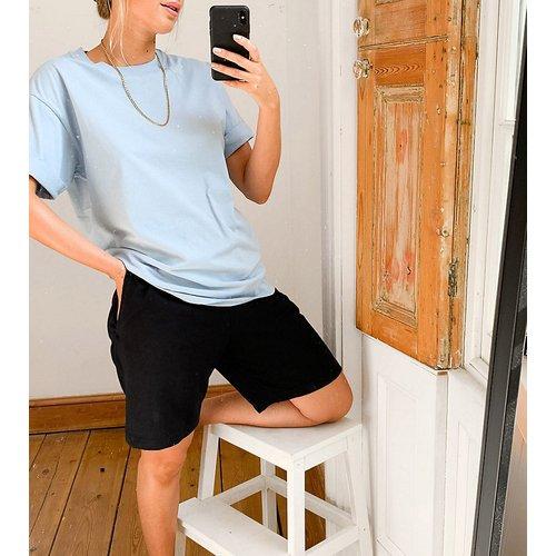 T-shirt décontracté à manches retroussées - ASOS DESIGN - Modalova