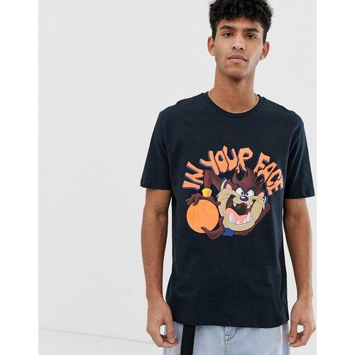 T-shirt décontracté avec imprimé diable de Tasmanie - ASOS DESIGN - Modalova