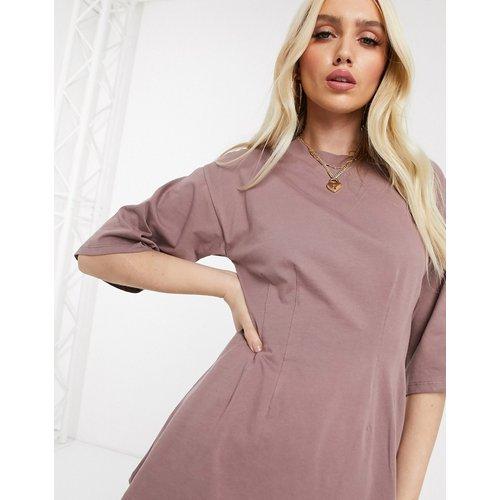 T-shirt d'ensemble avec détail style corset - ASOS DESIGN - Modalova