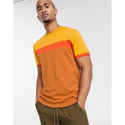 T-shirt en color block - ASOS DESIGN - Modalova