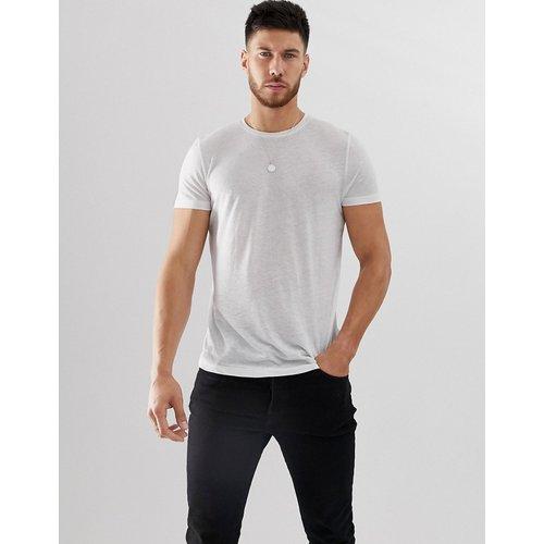 T-shirt en lin mélangé - ASOS DESIGN - Modalova