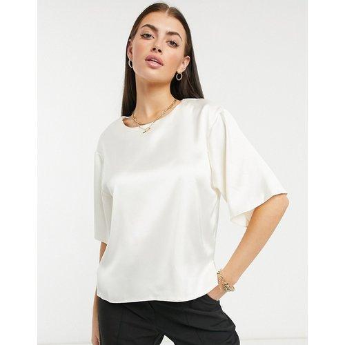 T-shirt en satin - ASOS DESIGN - Modalova