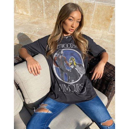 T-shirt imprimé Fleetwood Mac - ASOS DESIGN - Modalova