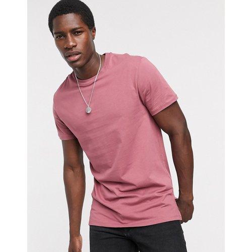 T-shirt long à fentes latérales - ASOS DESIGN - Modalova