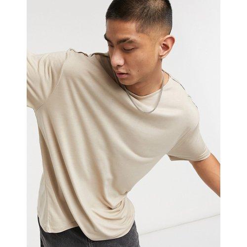 T-shirt long décontracté en viscose - ASOS DESIGN - Modalova