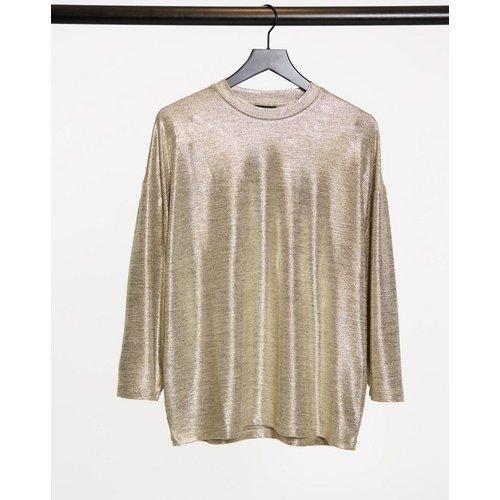 T-shirt long oversize à manches larges 3/4 - ASOS DESIGN - Modalova