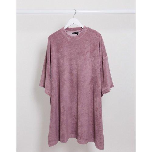 T-shirt long ultra oversize en tissu éponge - ASOS DESIGN - Modalova