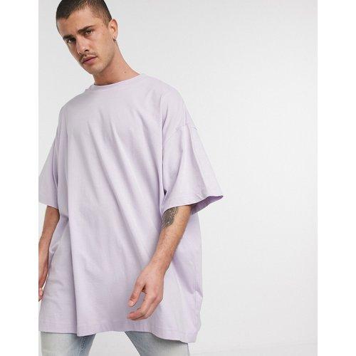 T-shirt long ultra oversize - Lilas - ASOS DESIGN - Modalova