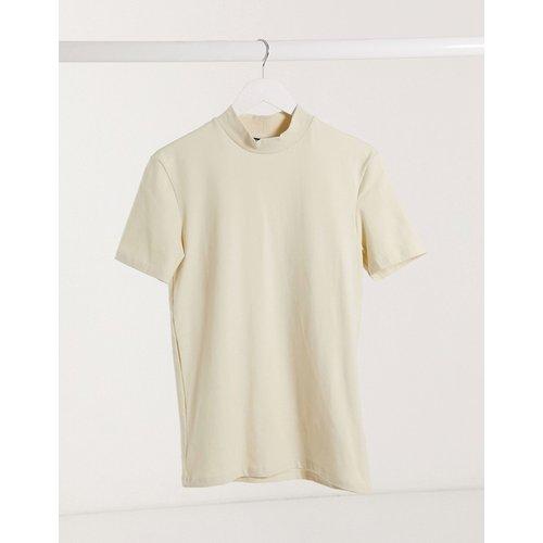 T-shirt moulant col roulé - ASOS DESIGN - Modalova