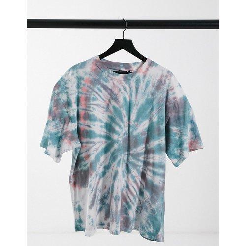 T-shirt oversize à imprimé spiral tie-dye style grunge - ASOS DESIGN - Modalova