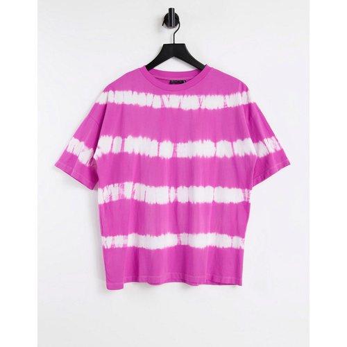 T-shirt oversize à rayures - délavé - ASOS DESIGN - Modalova