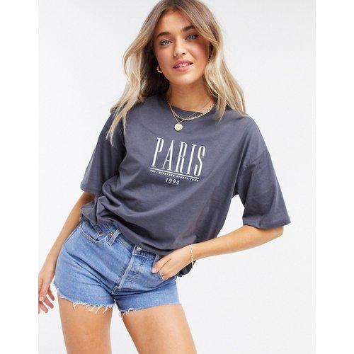 T-shirt oversize avec imprimé Paris - ASOS DESIGN - Modalova